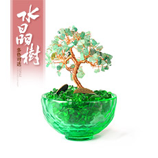 水晶树摆件★五行水晶树工艺品摆件[多款]