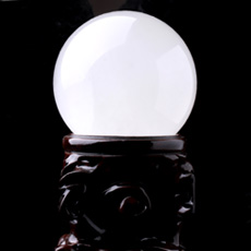 天然白色方解石水晶球★转运风水球★家居办公摆件