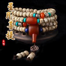 天然星月菩提佛珠手链★古典时尚多层念珠手串