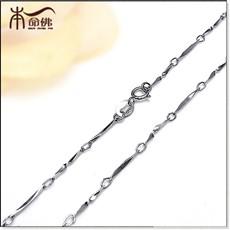 925银批角扭花链★银链